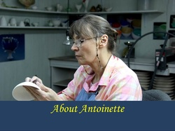 Biography of Antoinette Badenhorst, porcelain artist from Mississippi