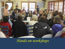 Hands-on workshops by Antoinette Badenhorst