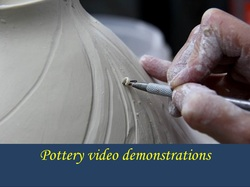 Pottery demonstrations by Mississippi ceramic artist and teacher Antoinette Badenhorst